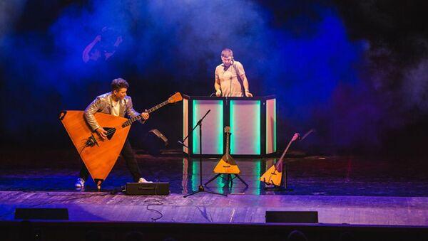 В районах Республики Абхазия пройдет Большой балалаечный концерт Андрея Кирякова - Sputnik Абхазия