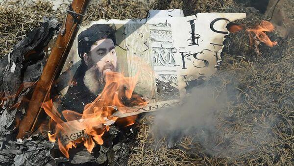 Террорист номер один, главарь Исламского государства* Абу-Бакр аль-Багдади  - Sputnik Абхазия