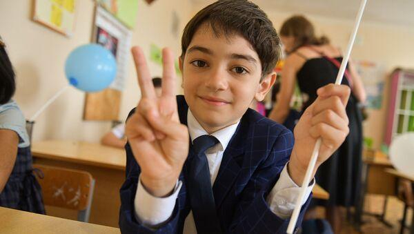 Открытие школы в селе Ачгуара - Sputnik Абхазия