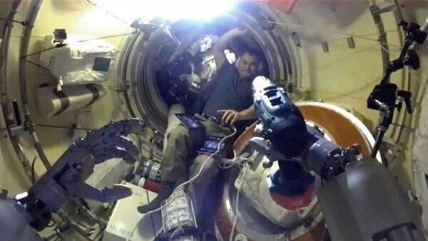 Федор освоился на МКС - Sputnik Абхазия