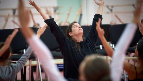 Открытый урок по танцу модерн для воспитанников Академии танца Бориса Эйфмана - Sputnik Абхазия