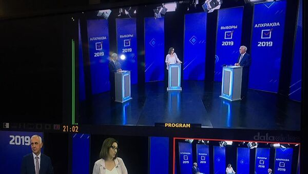 Теледебаты  - Sputnik Абхазия