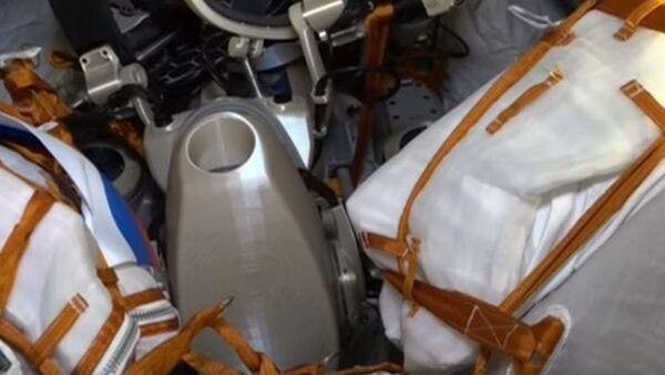 «Союз-МС-14» с роботом FEDOR на борту вернулся на Землю - Sputnik Абхазия
