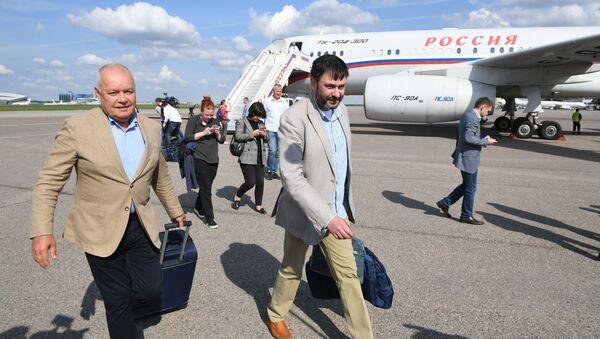 Участники договоренности об освобождении между Россией и Украиной прилетели в Москву - Sputnik Абхазия