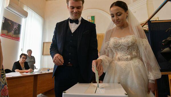 Выборы В Абхазии - Sputnik Аҧсны