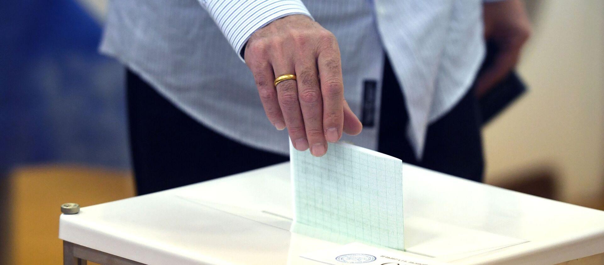 Второй тур президентских выборов в Абхазии - Sputnik Аҧсны, 1920, 09.09.2021