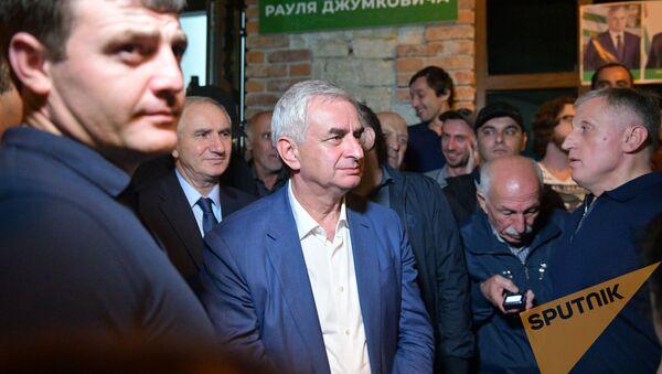 Ситуация в штабе Рауля Хаджимба  - Sputnik Абхазия