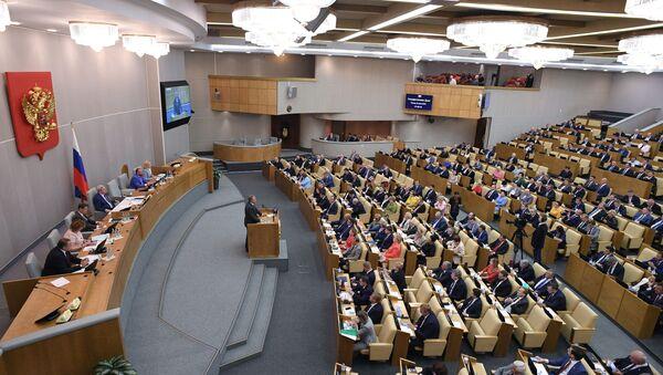 Пленарное заседание Госдумы, завершающее весеннюю сессию - Sputnik Абхазия