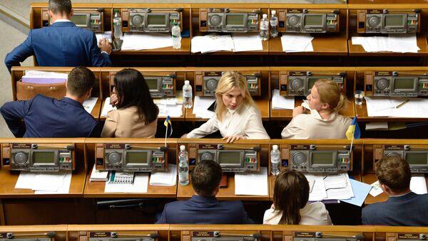 Заседание Верховной рады Украины - Sputnik Абхазия