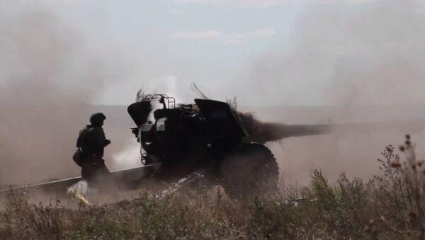 Шквальный огонь: лучшие кадры масштабных учений артиллеристов ЗВО - Sputnik Абхазия