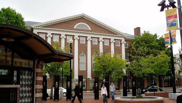 Гарвардский университет, где проходит вручение Шнобелевской премии. Архивное фото - Sputnik Абхазия