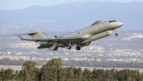 Самолет радиолокационной разведки ВВС Великобритании Bombardier Global Express Sentinel R.1 - Sputnik Аҧсны