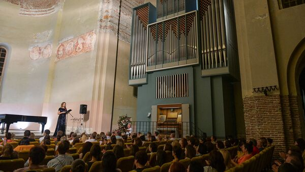 Фестиваль Органные вечера в Пицунде - Sputnik Абхазия
