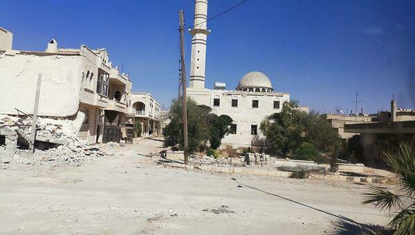 В сирийском Хан-Шейхуне начали восстанавливать инфраструктуру - Sputnik Абхазия