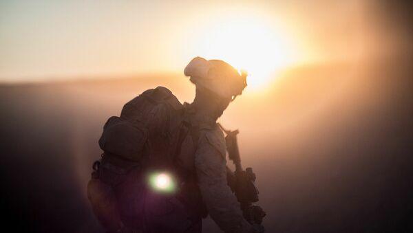 Американский военнослужащий. Архивное фото - Sputnik Абхазия