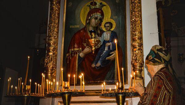 Рождество Пресвятой Богородицы в Сухумском кафедральном соборе  - Sputnik Абхазия