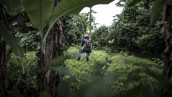 Камерунская полиция, архивное фото - Sputnik Абхазия
