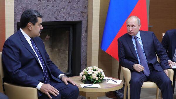 Президент РФ В. Путин встретился с президентом Венесуэлы Н. Мадуро - Sputnik Абхазия