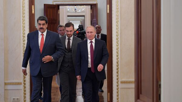 Встреча президента РФ В. Путина с  президентом Венесуэлы Н. Мадуро - Sputnik Абхазия