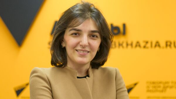Аэлита Шакая - Sputnik Абхазия