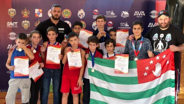 Чемпионат и  Первенство по тайскому боксу города Сочи - Sputnik Абхазия