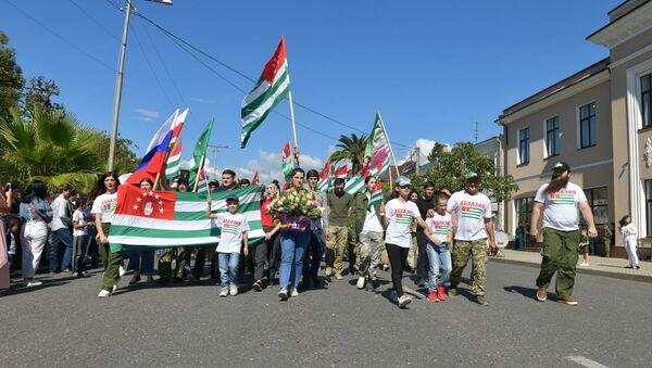 Шествие Тропой героев - Sputnik Абхазия