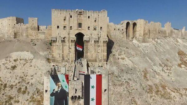 Результат реставрационных работ в городе Алеппо - Sputnik Абхазия