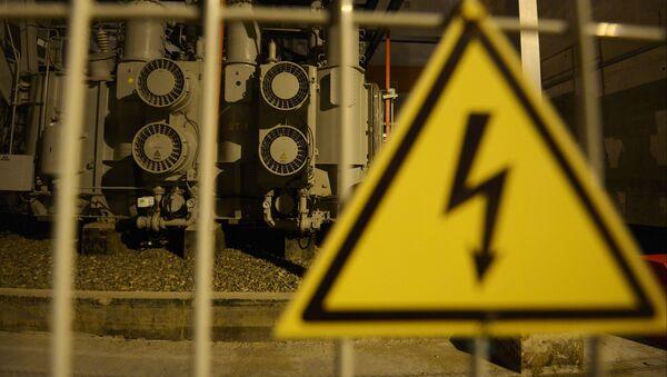 Ввод в эксплуатацию новой электростанции - Джубгинской ТЭС - Sputnik Абхазия