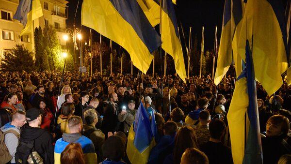 Акция националистов в Киеве - Sputnik Абхазия