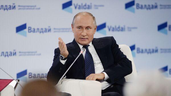 Президент РФ В. Путин принял участие в заседании клуба Валдай - Sputnik Абхазия