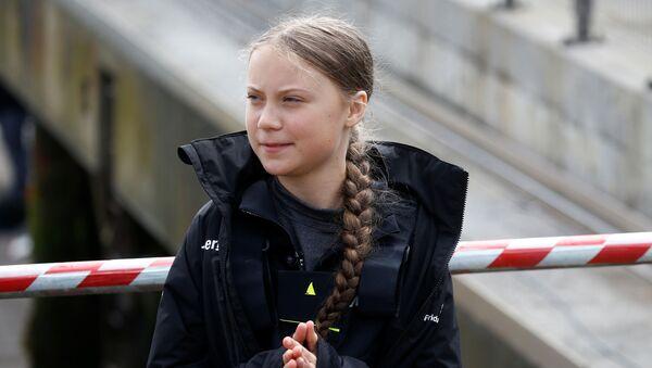 Шведская экологическая активистка Грета Тунберг - Sputnik Абхазия