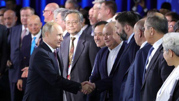 Рабочая поездка президента РФ В. Путина в Сочи - Sputnik Абхазия