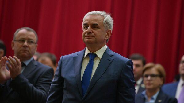 Инаугурация президента Абхазии Рауля Хаджимба - Sputnik Аҧсны