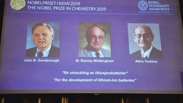 Нобелевка по химии за 2019 год присуждена за разработку литий-ионных батарей // AFP 2019 / NAINA HELEN JAMA - Sputnik Аҧсны