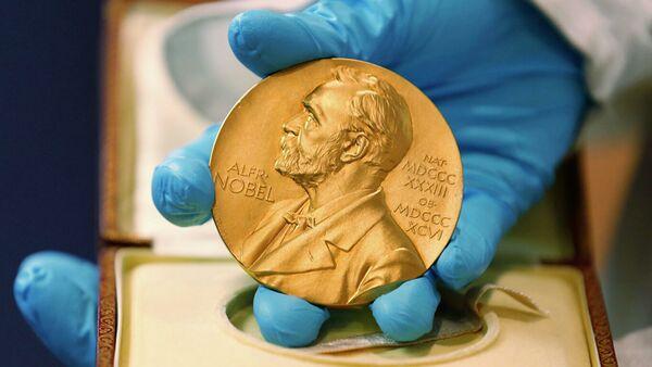 Золотая медаль Нобелевской премии - Sputnik Аҧсны
