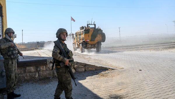 Турецкие войска в Сирии  - Sputnik Аҧсны