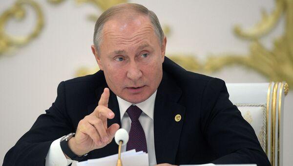 Визит президента РФ В. Путина в Туркмению - Sputnik Абхазия