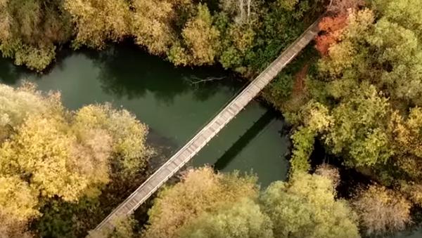 «Мост дяди Коли»: пенсионер из Татарстана отремонтировал мост в своём посёлке - Sputnik Абхазия