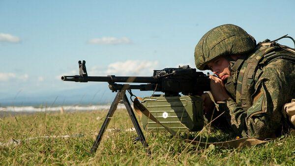 Военнослужащие ЮВО и Минобороны Абхазии приступили к совместному тактическому учению в горах и на морском побережье - Sputnik Абхазия