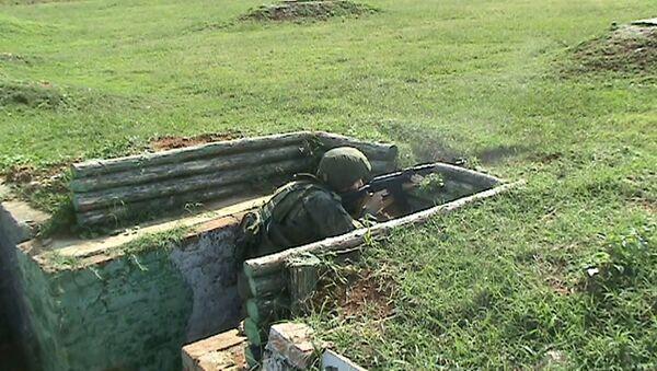 Отстрелялись на «отлично»: российские военные в Абхазии прошли годовую проверку - Sputnik Абхазия