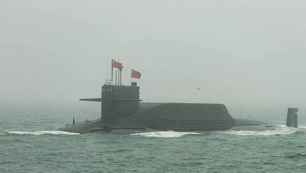 Стратегическая атомная подводная лодка Цзинь (Тип-094) - Sputnik Абхазия