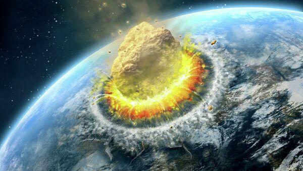 Столкновение астероида с Землей - Sputnik Абхазия
