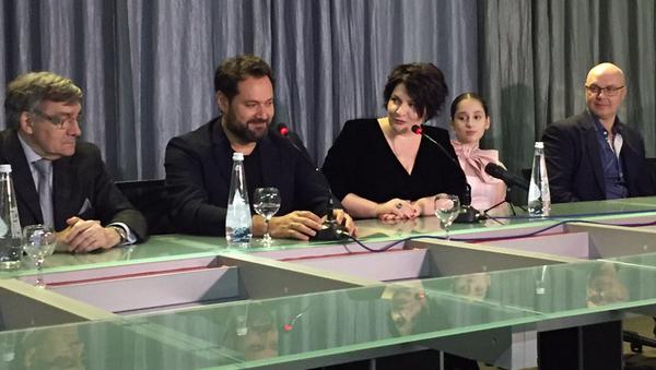 Пресс-конференция участников фестиваля Хибла Герзмава приглашает - Sputnik Абхазия
