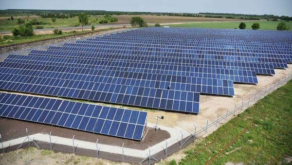 Открытие солнечной электростанции во Львовской области - Sputnik Абхазия