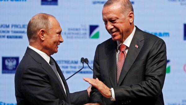 Путини Ердогани ҭелла еицәажәеит - Sputnik Аҧсны