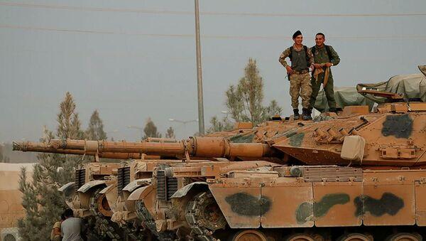 Турецкие военные в городе Акчакале  - Sputnik Абхазия