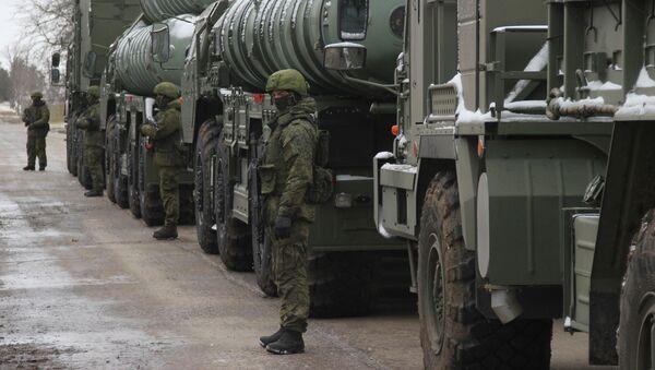 Дивизион С-400 Триумф заступил на боевое дежурство в Крыму - Sputnik Абхазия