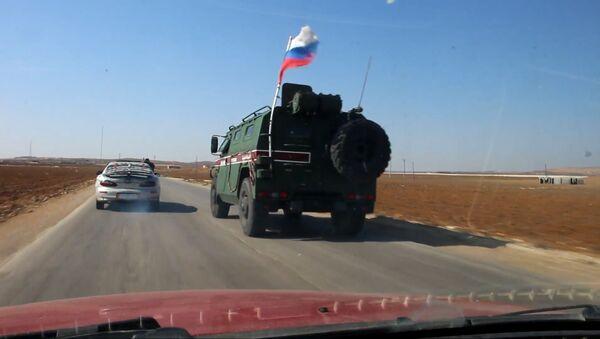 Российская военная полиция прибыла на сирийско-турецкую границу - Sputnik Абхазия