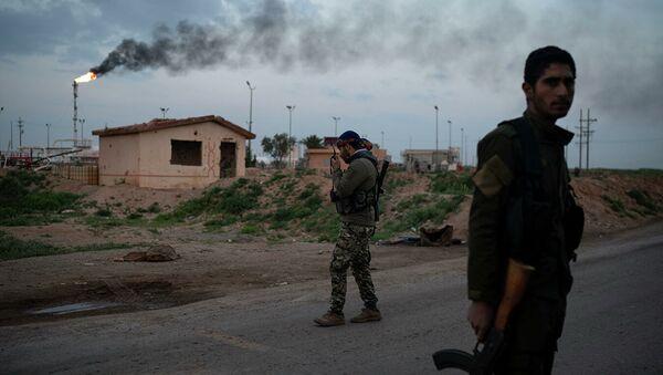 Бойцы Сирийских демократических сил (СДС). Архивное фото - Sputnik Абхазия