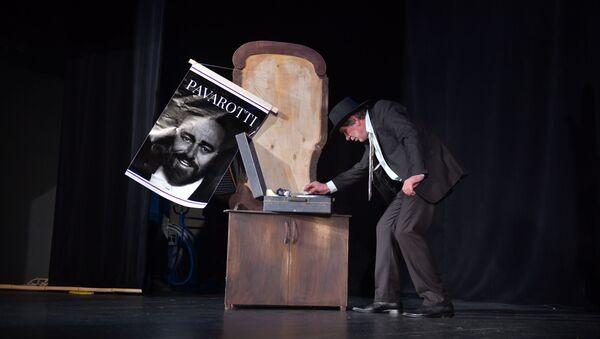 Репетиция спектакля Берег неба в Абхазском драматическом театре - Sputnik Абхазия